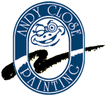 Andy Close Painting Mobile Logo